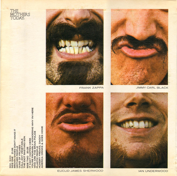 The Mothers Of Invention* - Mothermania The Best Of The Mothers (LP, Comp,  Ga)