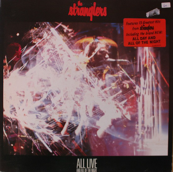 The Stranglers - All Live And All Of The Night (LP, Album, Gat)