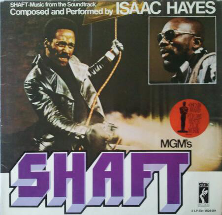 Isaac Hayes - Shaft (2xLP, Album, Gat)