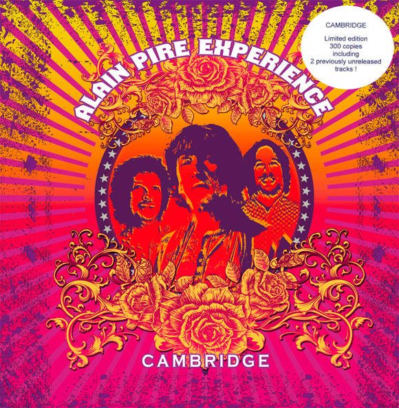 Alain Pire Experience - Cambridge (LP, Album, Ltd)