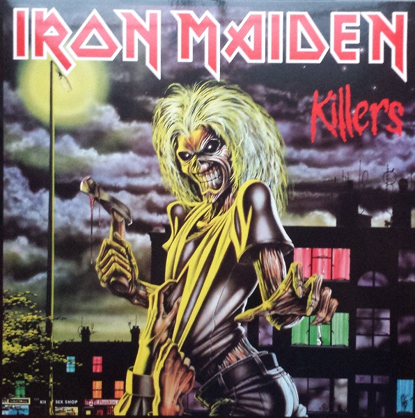 Iron Maiden - Killers (LP, Album, RE, RM)