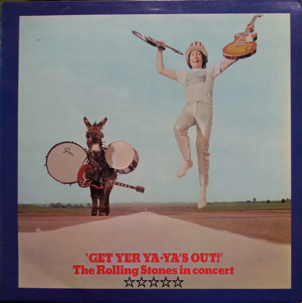 The Rolling Stones - Get Yer Ya-Ya's Out! - The Rolling Stones In Concert (LP, Album, RP)