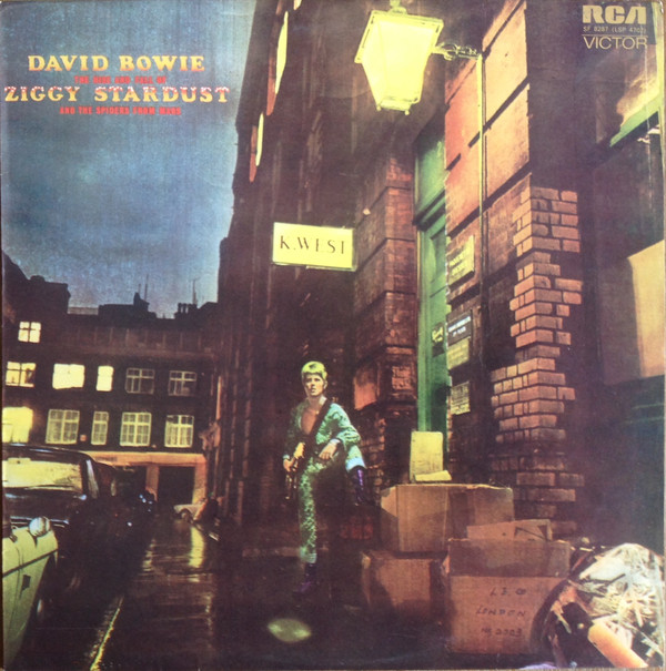 David Bowie - The Rise And Fall Of Ziggy Stardust And The Spiders From Mars (LP, Album)