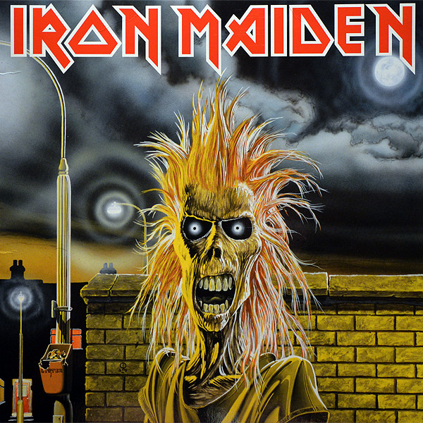 Iron Maiden - Iron Maiden (LP, Album, RE)