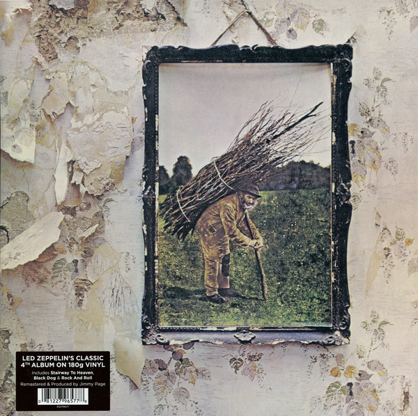 Led Zeppelin - Untitled  (LP, Album, RE, RM, 180)