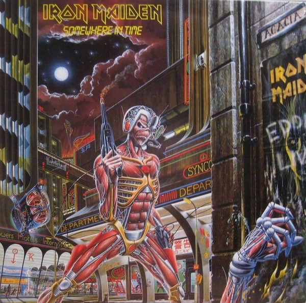 Iron Maiden - Somewhere In Time (LP, Album, RE, RM, 180)