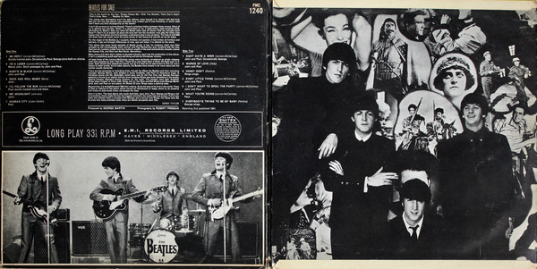 The Beatles - Beatles For Sale (LP, Album, Mono, Gat)