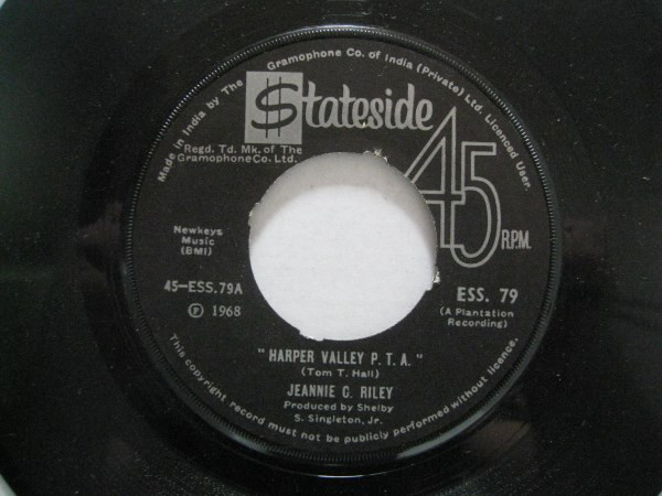 Jeannie C. Riley - Harper Valley P.T.A. / Yesterday All Day Long Today (7