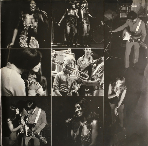 Ike & Tina Turner - Live In Paris (2xLP, Album)