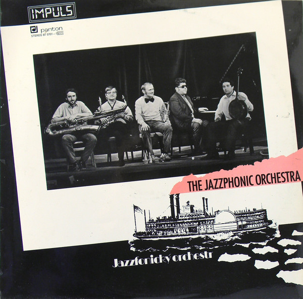 Jazzfonický Orchestr - The Jazzphonic Orchestra (LP, Album)