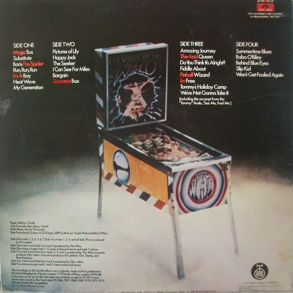 The Who - The Story Of The Who (2xLP, Comp, Gat)