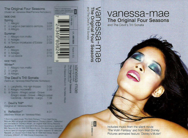Vanessa-Mae - The Original Four Seasons  And The Devil's Trill  Sonata (Cass, Album)