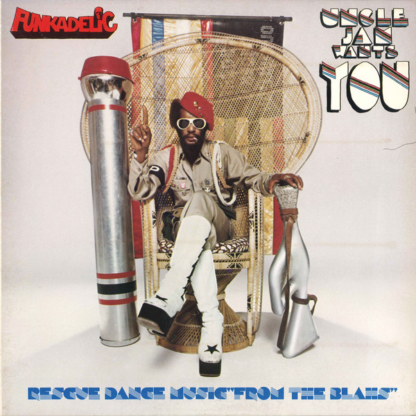 Funkadelic - Uncle Jam Wants You (LP, Album, Gat)