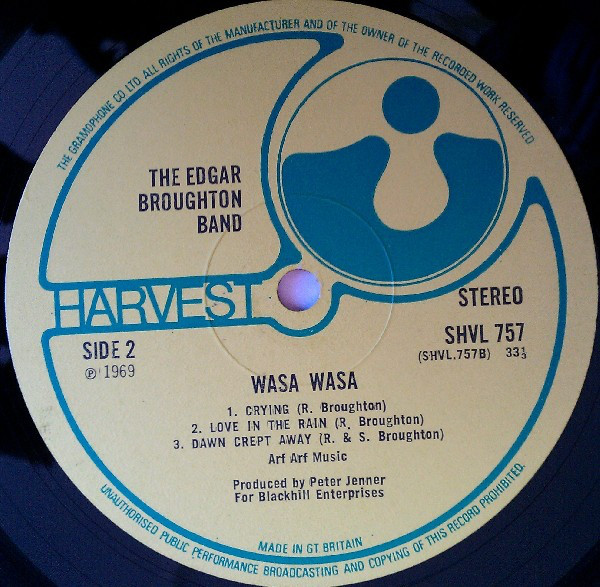 The Edgar Broughton Band - Wasa Wasa (LP, Album, Gat)