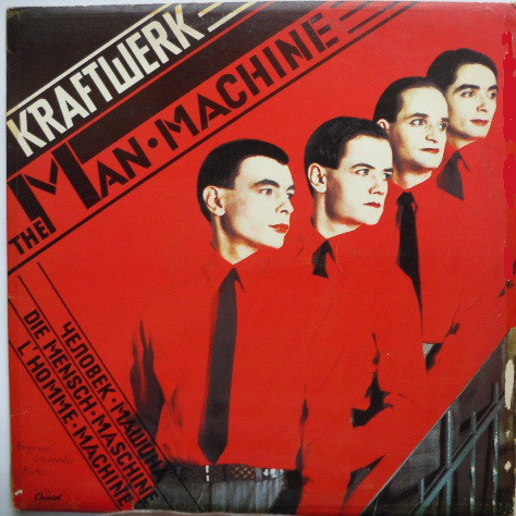 Kraftwerk - The Man Machine (LP, Album)