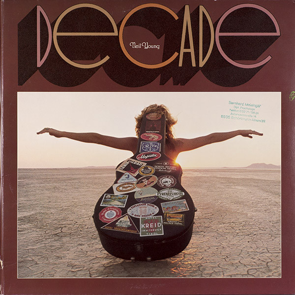 Neil Young - Decade (3xLP, Comp, RP, Gat)