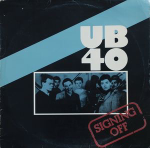 UB40 - Signing Off (LP, Album)