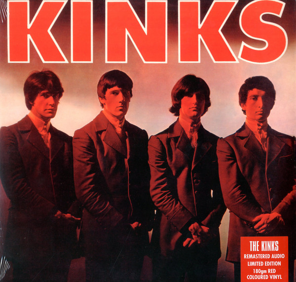 The Kinks - Kinks (LP, Album, Mono, RE, RM, Red)