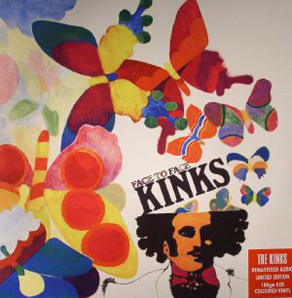 The Kinks - Face To Face (LP, Album, Mono, Ltd, RE, RM, Red)