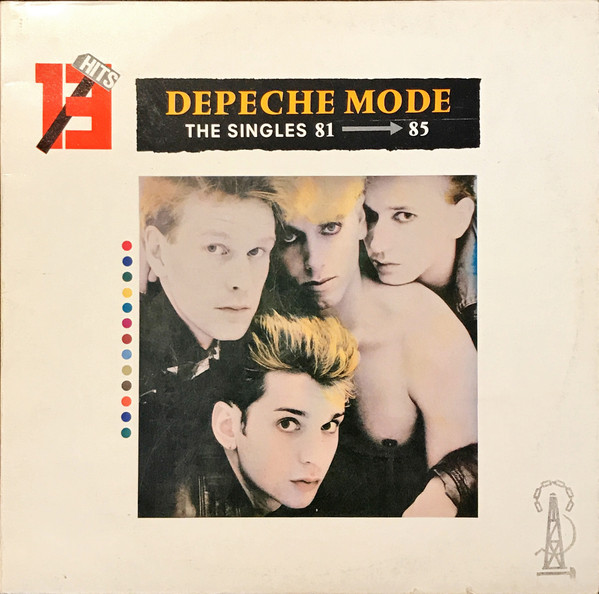 Depeche Mode - The Singles 81 → 85 (LP, Comp)