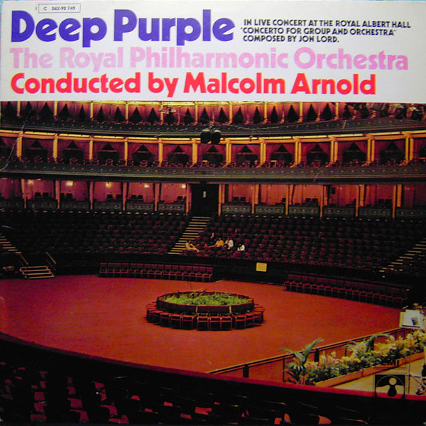 Deep Purple, The Royal Philharmonic Orchestra, Malcolm Arnold - Concerto For Group And Orchestra (LP, Album)
