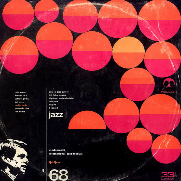 Various - Mednarodni International Jazz-Festival Ljubljana '68 (LP, Album, Mono)