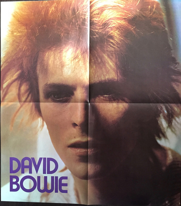 David Bowie - Space Oddity (LP, Album, RE)