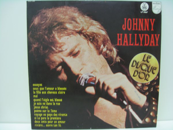 Johnny Hallyday - Le Disque D'Or (LP, Comp)