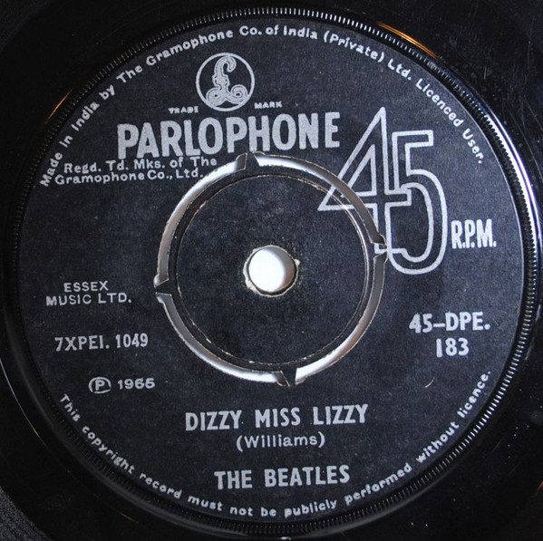 The Beatles - Dizzy Miss Lizzy (7