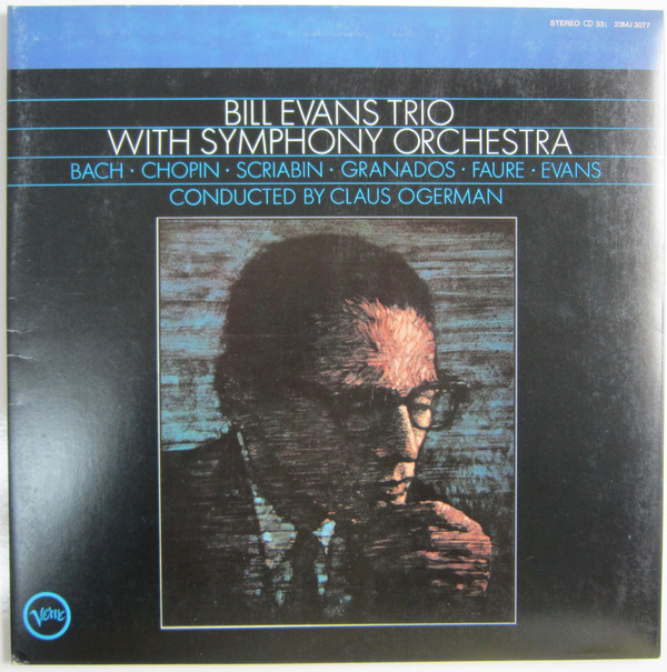 Bill Evans Trio* - Bill Evans Trio With Symphony Orchestra (LP, Album, RE, Gat)