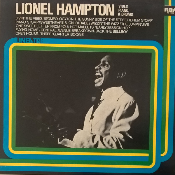 Lionel Hampton - Vibes, Piano & Drums (LP, Comp)
