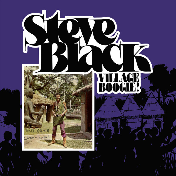 Steve Black* - Village Boogie (CD, Album, RE)