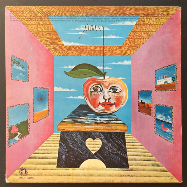 Premiata Forneria Marconi - Per Un Amico (LP, Album, RE)