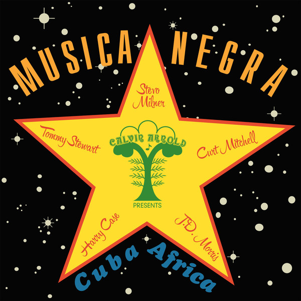 Stevo (9) - Musica Negra (LP, Album, RE, RM)