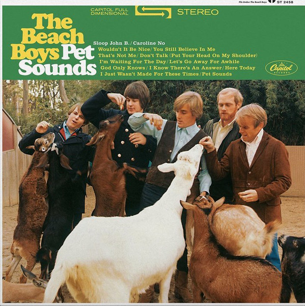 The Beach Boys - Pet Sounds (LP, Album, RE, 180)