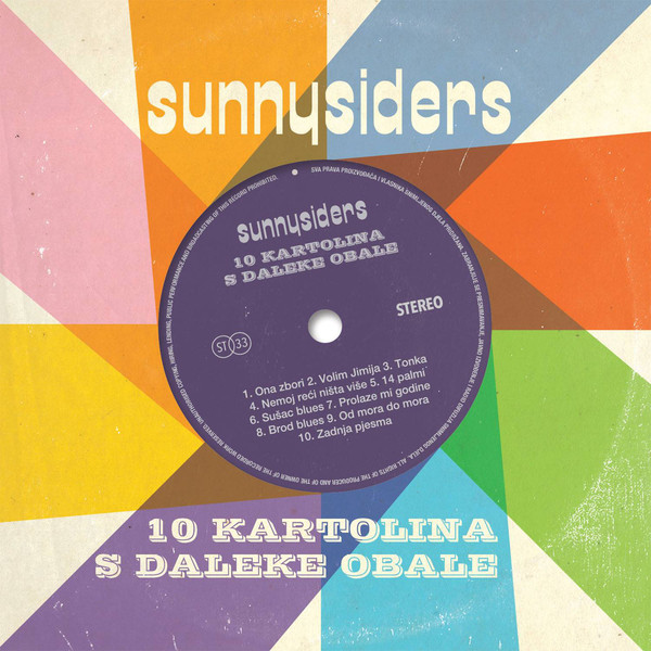 Sunnysiders - 10 Kartolina S Daleke Obale (CD, Album, Car)