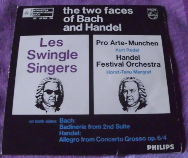 Various - The Two Faces Of Bach And Handel (7
