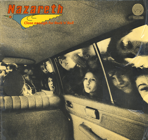 Nazareth (2) - Close Enough For Rock 'N' Roll (LP, Album)