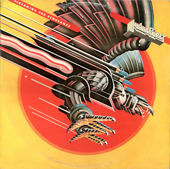 Judas Priest - Screaming For Vengeance (LP, Album)