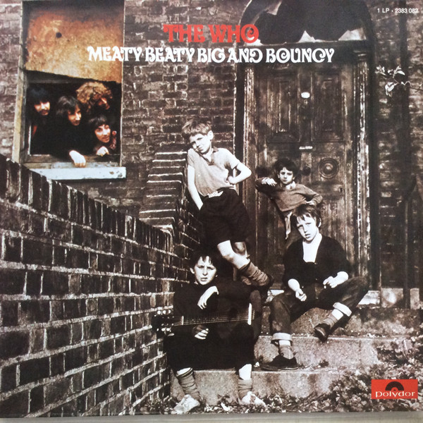The Who - Meaty, Beaty, Big & Bouncy (LP, Comp, Gat)
