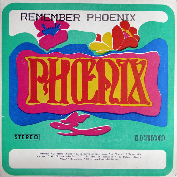 Phoenix (23) - Remember Phoenix / Negru Vodă (LP, Comp)