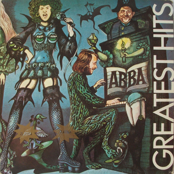 ABBA - Greatest Hits (LP, Comp, RP)