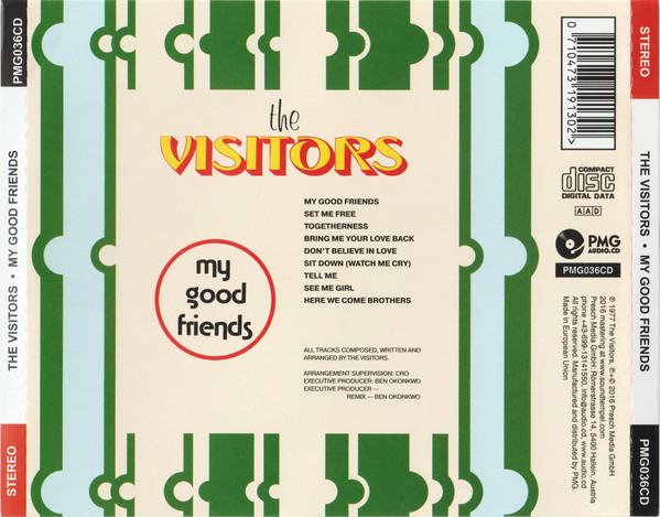 The Visitors (28) - My Good Friends (CD, Album, RE)