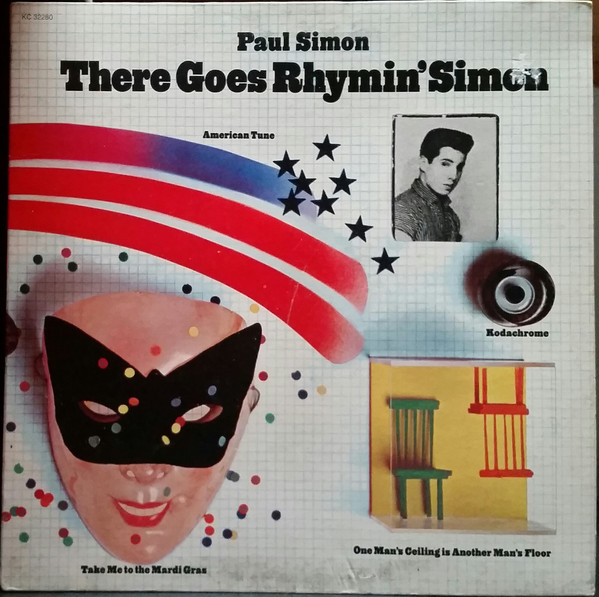 Paul Simon - There Goes Rhymin' Simon (LP, Album, Pit)