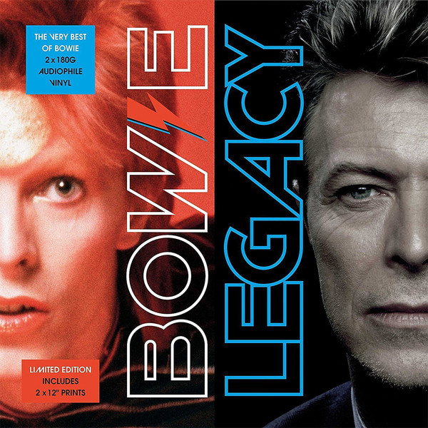 David Bowie - Legacy (2xLP, Comp, Ltd, 180)