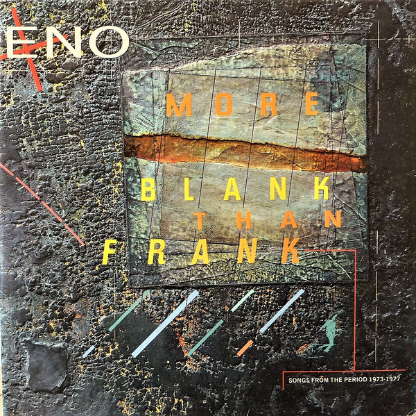Eno* - More Blank Than Frank (LP, Comp)