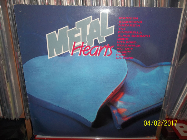 Various - Metal Hearts (LP, Album, Comp)